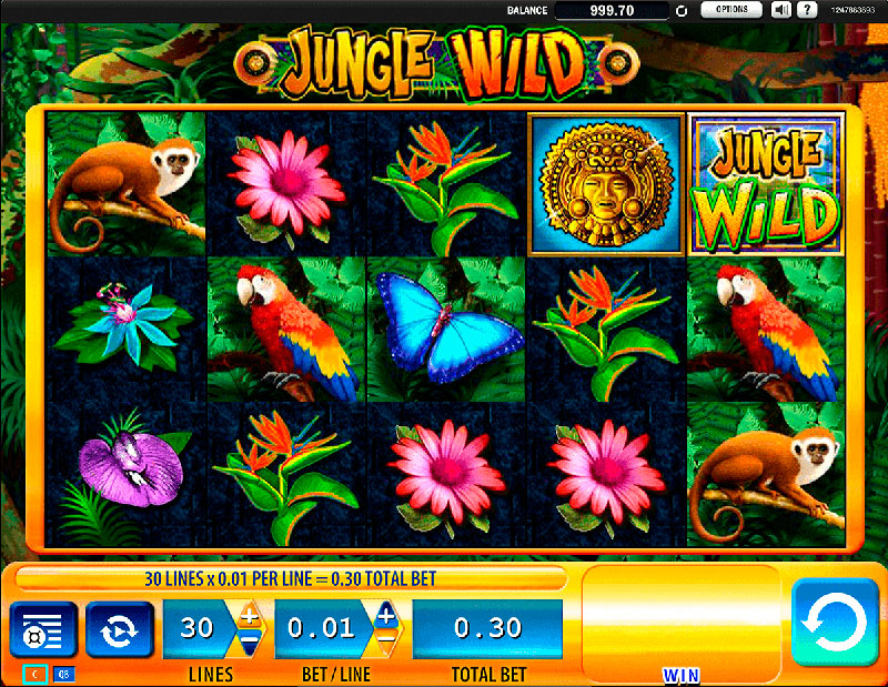 Analisis Tragamonedas Jungle Wild