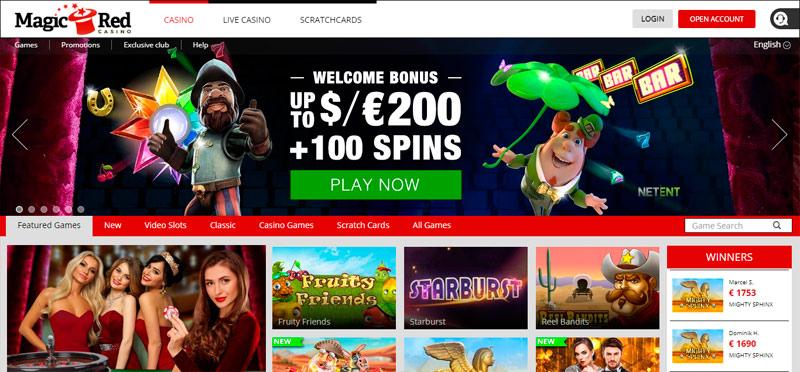 Casino Magic Red