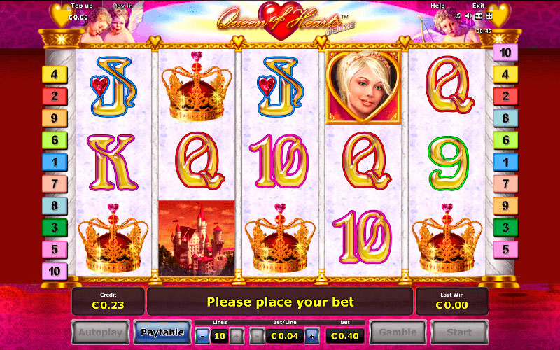 Analisis del Juego en linea Queen of Hearts