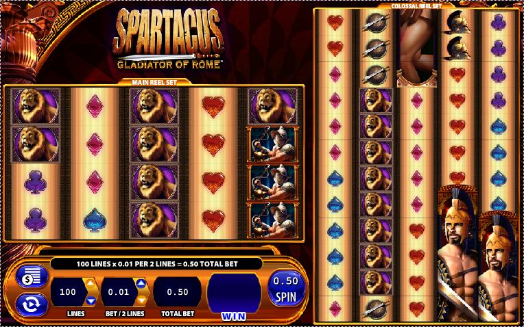 Spartacus tragamoneas en linea