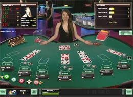Live Blackjack Live Dealer