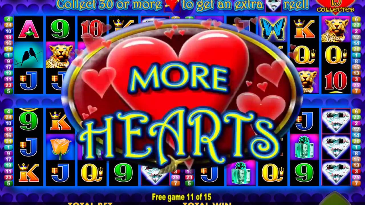 More Hearts Free Slots