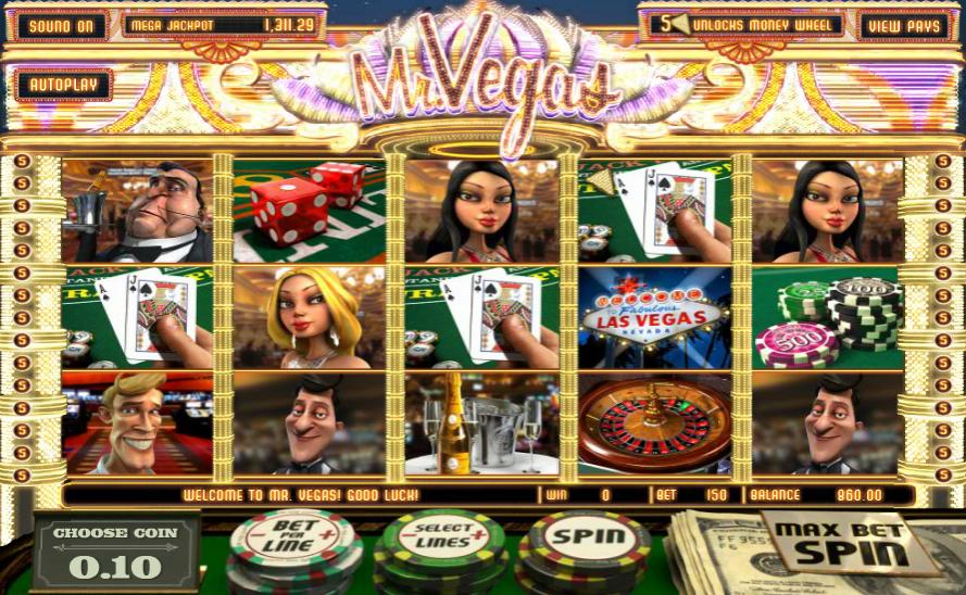Mr Vegas Slot
