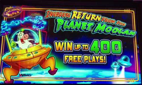 Planet Moolah Pokie