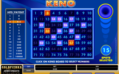 Play Keno Online at Top Real Money Online Casinos