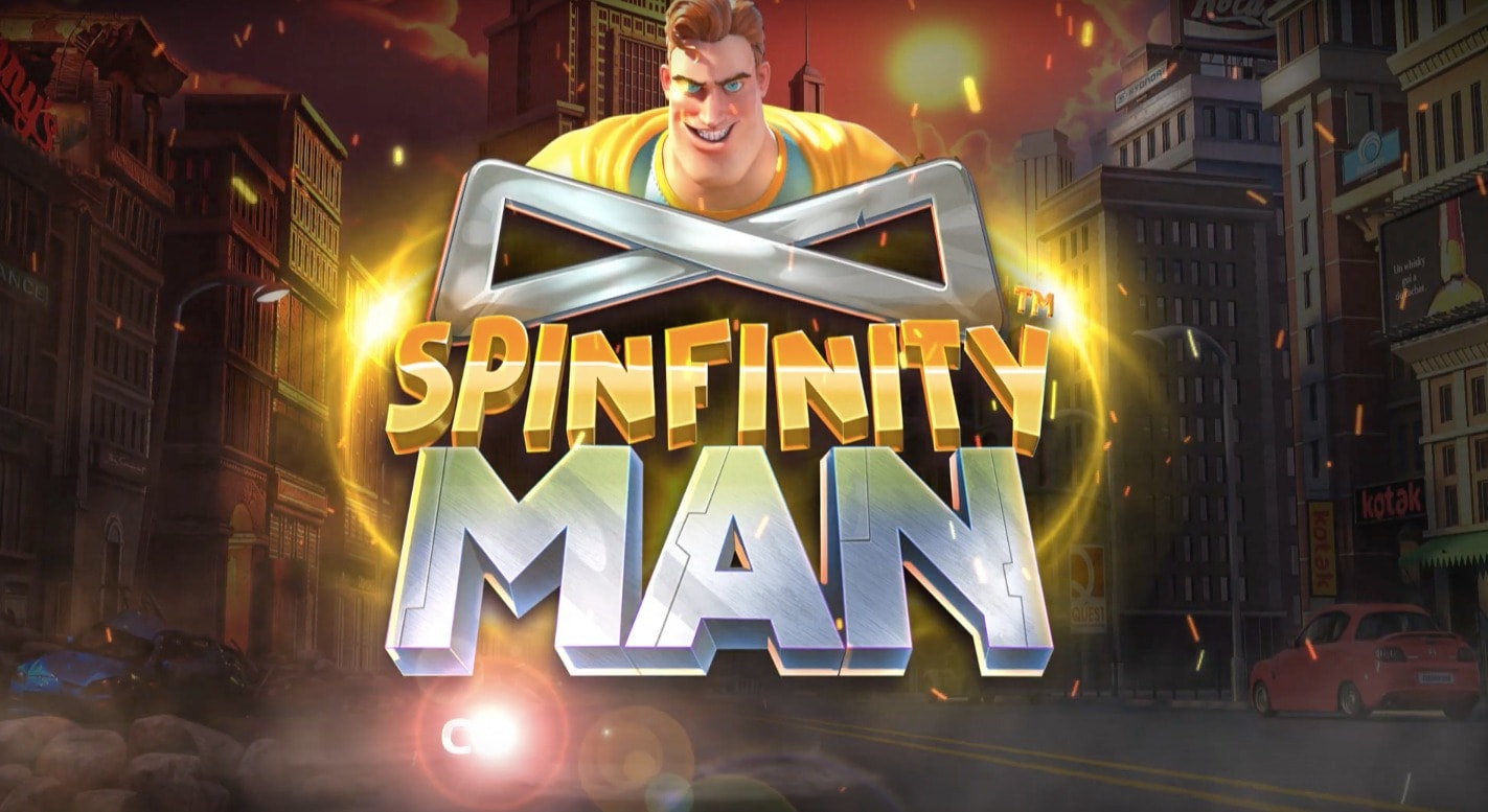 Spinfinity Man slot: a classic battle