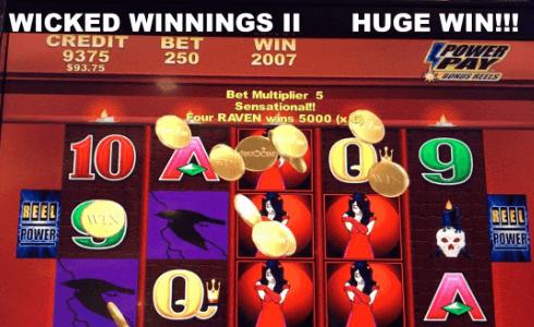 Wicked Winnings Pokie