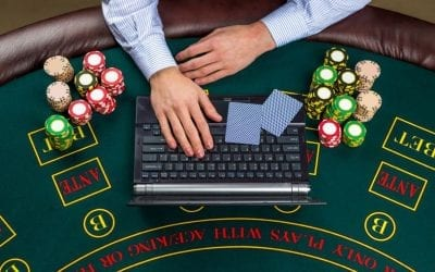 How do online casinos benefit the environment?